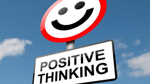 La linfa vitale che può tenerci ancora in vita: pensare positivo