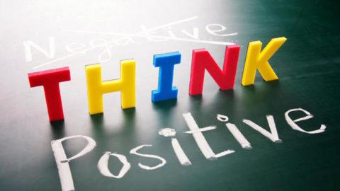 Essere se stessi, pensare positivo!