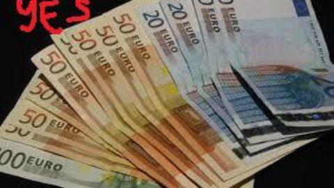 €3000 in tasca ad una persona