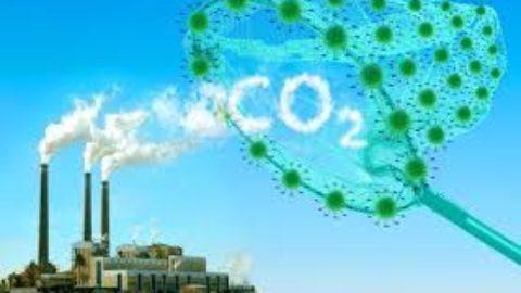 CO2 emissione pericolosa.