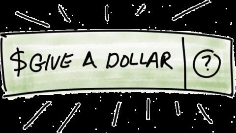 Un dollaro donato non è un dollaro sprecato
