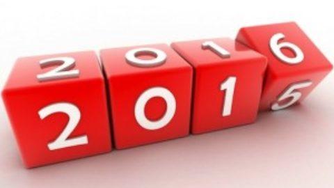 Un nuovo anno, il 2016!