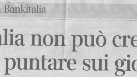 L'Italia è nelle nostre mani