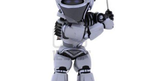 Sportivamente robot.