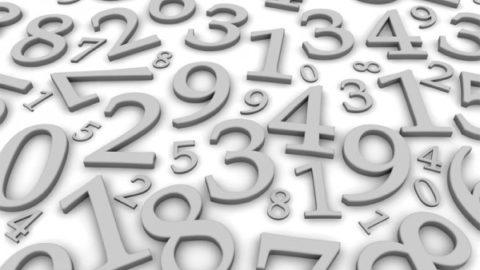 NUMERI: siamo tutti delle cifre!