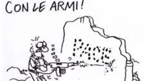 Ma 'Italia non ripudiava la guerra?
