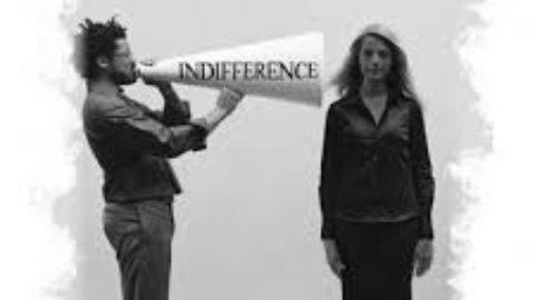 Il muro dell'indifferenza