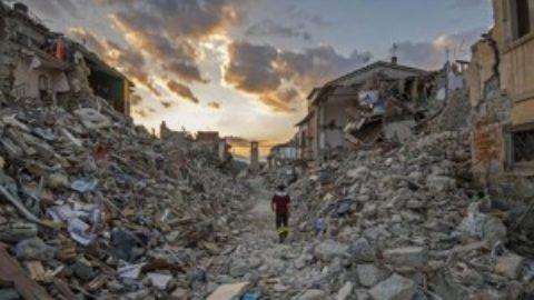 Tutto il Paese è a rischio terremoti.