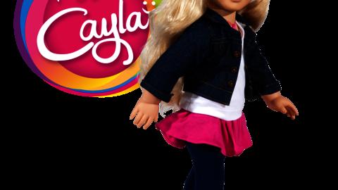 MY FRIEND CAYLA: LA BAMBOLA DAL DOPPIO VOLTO.