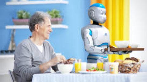Un robot come badante un vero aiuto per gli anziani