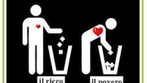 la ricchezza in Italia, siamo tutti ricchi allo stesso modo?