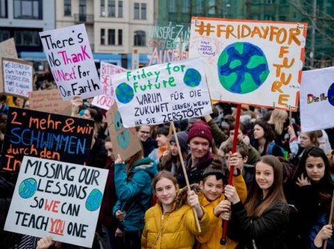 Il surriscaldamento globale e Greta Thunberg