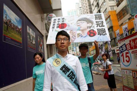 Hong Kong in ginocchio.