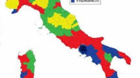 LA  FOTOGRAFIA DELL' ITALIA DI OGGI