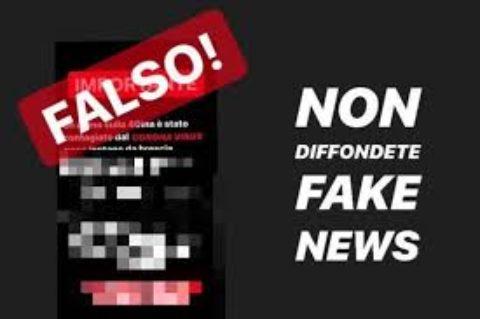 In allerta: arrivano le fake news