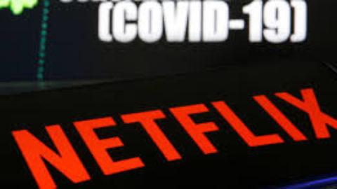 Netflix combatte il covid19