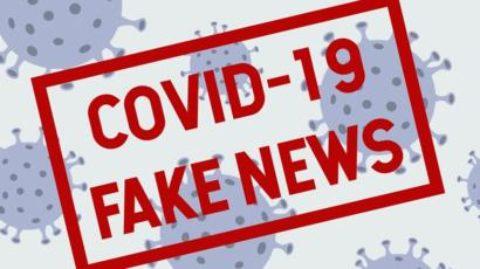 COVID 19: È ALLERTA FAKE NEWS