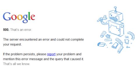 La caduta di Google